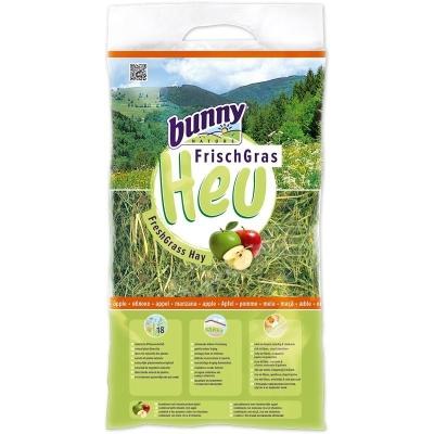 Bunny Nature Heno de hierba fresca con manzana 500 g