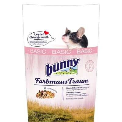 Bunny Nature Farbmaus Traum Basic  500 g