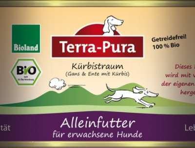 Terra Pura Bio-Kürbistraum Organic Goose & Duck  800 g, 400 g, 200 g