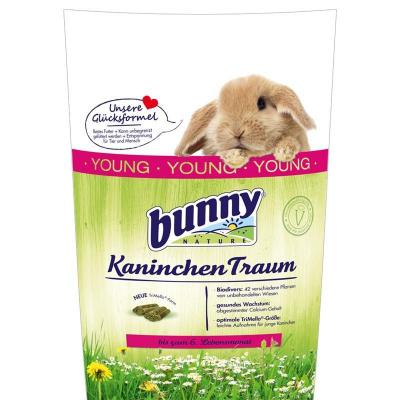 Bunny Nature Kaninchen Traum Young  750 g, 4 kg, 1 kg
