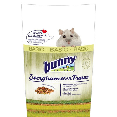Bunny Nature Sogno per Criceti Nani  BASIC  600 g