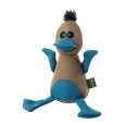 Hunter Dog toy Canvas Bird brown/blue 20cm  Brown/Blue