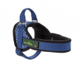 Hunter  Harness Ludwigswelt Nylon, Blue/fleece Black  Blå butik