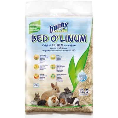 Bunny Nature Bed oLinum Leinen Natureinstreu 12.5 l