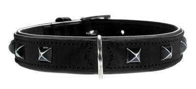 Hunter Collar Softie Kairo Svart 32-40x2.8 cm