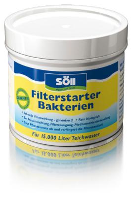 Söll Filtro Bactérias iníciadoras 100 g