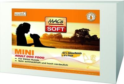 MAC's Soft Mini Adult with Chicken  230 g, 1.5 kg, 3x5 kg, 5 kg