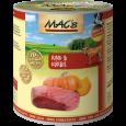 MAC's Dog - Bœuf & Potiron, en Boîte 800 g