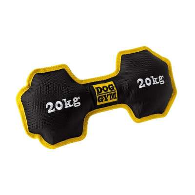 Hunter Dog toy Dog Gym Dumbbell Nylon, black, 26cm Sort