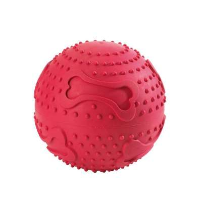 Hunter Dog toy Snack ball Κόκκινο 6 cm