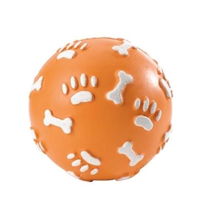 Hunter Hundespielzeug Vollgummiball Pfote, ø 7cm S