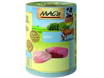 MAC's Dog Puppy, Canned 400 g
