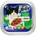 Felix Chunks in Sauce with Rabbit & Duck 100 g billigt