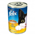 Felix Chunks with Chicken in Jelly 400 g billigt