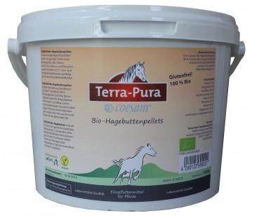 Terra Pura Bio-Hagebuttenpellets für Pferde 1.5 kg