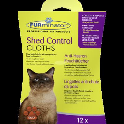 FURminator Anti-Haaren Feuchttücher für Katzen 15x20 cm