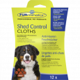 Shed Control toalhitas para cão FURminator 12un