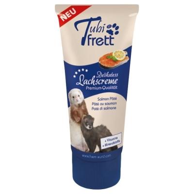 Hansepet - Tubidog Tubi Frett - Lachscreme für Frettchen 75 g