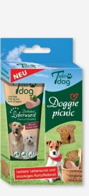 Hansepet - Tubidog Doggie picnic 125 g Kalkun