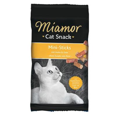 Miamor Cat Confect Mini-Sticks mit Huhn & Ente Huhn & Ente 50 g