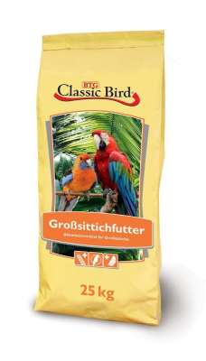 Classic Bird Großsittichfutter Hobby  25 kg