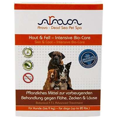 Arava Dog Spot On Against Fleas, Ticks, Lice 4 ml