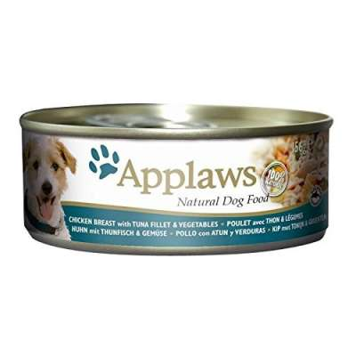 Applaws Tinn Kylling med Tunfisk og Grønnsaker  156 g