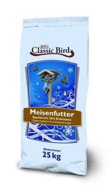 Classic Bird Meisenfutter Spezial mit 30% Erdnüssen  25 kg, 2.5 kg, 10 kg
