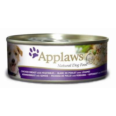 Applaws Dog Tin Chicken, Vegetables and Rice  156 g, 16x156 g