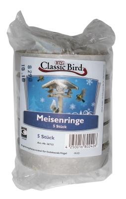 Classic Bird Meisenringe  5Stück