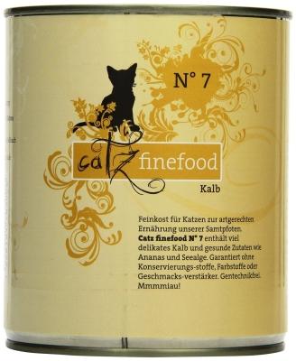 Catz Finefood No.7 Kalb 85 g, 800 g, 400 g, 200 g