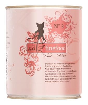 Catz Finefood No.3 Geflügel 85 g, 800 g, 400 g, 200 g