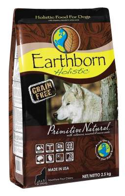 Earthborn Holistic Dog Primitive Natural  2.5 kg, 120 g, 12 kg