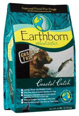 Earthborn Holistic Coastal Catch  2.5 kg, 120 g, 12 kg