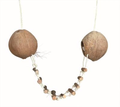 Trixie Casetta in noce di cocco per criceti, ø13×100 cm