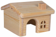 Trixie Wooden House, Mice Hamsters  Beige