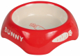 Trixie Ceramic Bowl, Rabbits