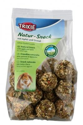 Trixie Pure Nature Bällchen mit Apfel & Dinkel  140 g, 30 g