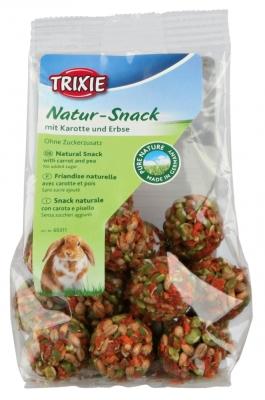 Trixie Pure Nature Bällchen mit Karotte & Erbse  140 g, 30 g