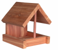 Trixie Bird Feeder, Cedarwood Brown