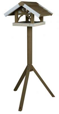 Trixie natura Fuglefoderhus med Stander, 45 × 28 × 44 cm Brun 45x28x44 cm