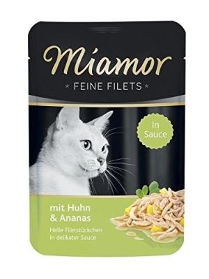 Miamor Feine Filets Huhn & Ananas 100 g, 24x100 g