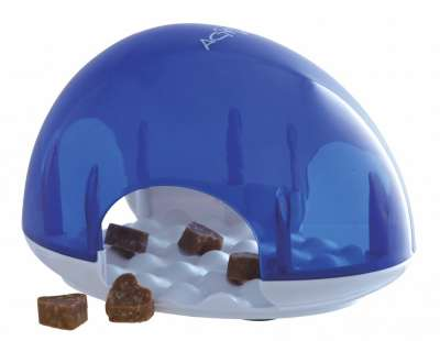 Trixie Cat Activity Snack Box Blau 19x13x14 cm