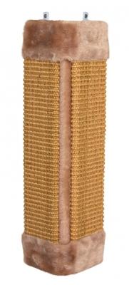 Trixie Kratzbrett für Zimmerecken Braun 23×49 cm