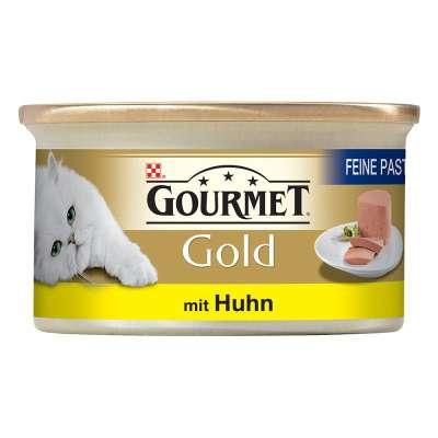 Purina Gold Feine Pastete mit Huhn 85 g