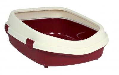 Trixie Katzentoilette Primo XL, mit Rand 25x56x71 cm