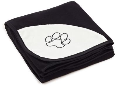Trixie Barney fleece teppe, sort 100x150 cm