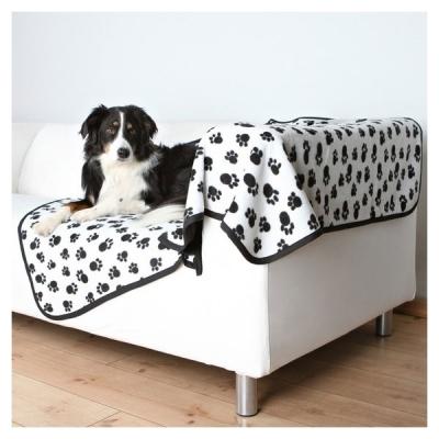 Trixie Beany Hundeteppe 150 cm x 100 cm, hvit