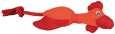 Polyester kip of Eend 38 cm van Trixie