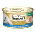Purina Gourmet Gold - Fine Pâté with Pollock & Carrots 85 g billigt
